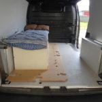 lit 1 place dans fourgon