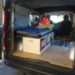 couchage matelas renault trafic