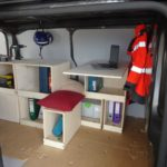 bureau mobile dans jumpy Citroen